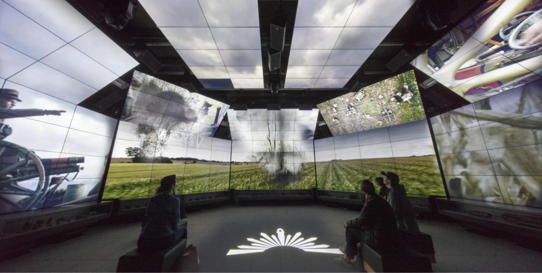 The SJMC Immersive Gallery.