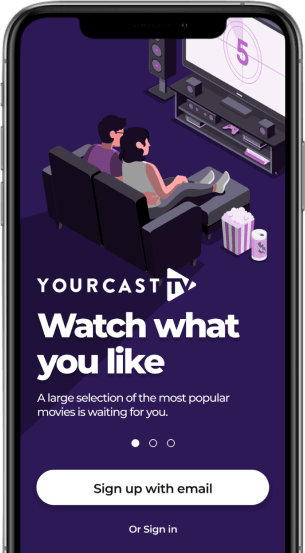 OTT-like Online Video Streaming Platform App.